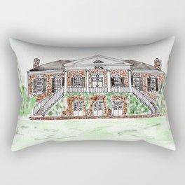 University of Alabama, Alabama, Greek life Rectangular Pillow