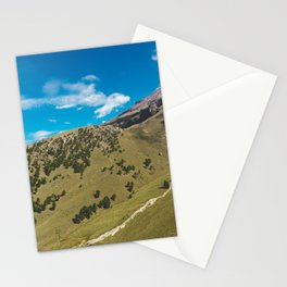 View Across the Valley Hiking up Iztaccihutal Volcano, Mexico City Stationery Cards
