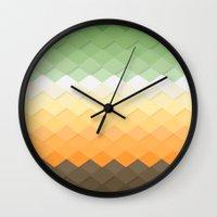zen Wall Clocks featuring Zen by Kakel