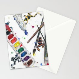 Dart Frogs Stationery Cards
