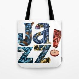 Jazz! Tote Bag