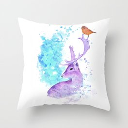 NATURE INK Throw Pillow
