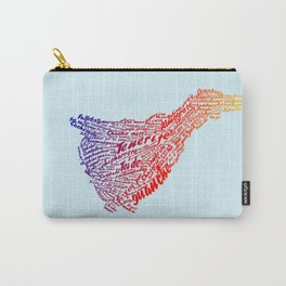 Tenerife In Words Carry-All Pouch