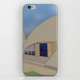 Building Of The Future From A Forgotten Past iPhone Skin