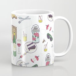 messy picnic Coffee Mug