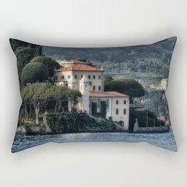 Villa del Balbianello - Lake Como Rectangular Pillow