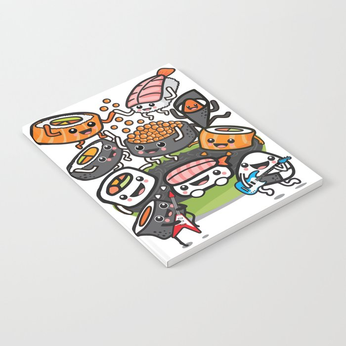 Sushi Rock Notebook