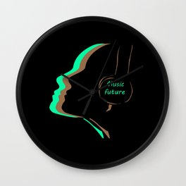 The music of the future 7 Wall Clock