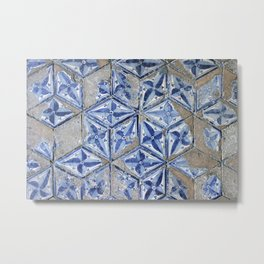 Tiling with pattern Metal Print