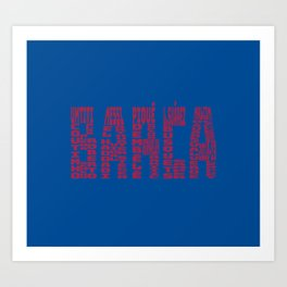 Barcelona 2018 - 2019 Art Print