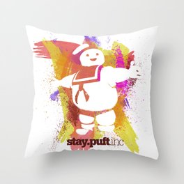 stay.puft.inc Throw Pillow