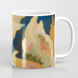 Abstracted flower detail Coffee Mug