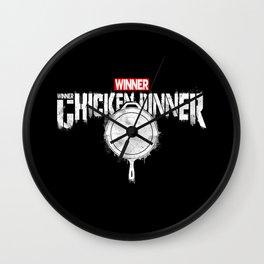 Winner winner chicken dinner parody Wall Clock