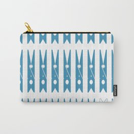 Clothespins poster Carry-All Pouch