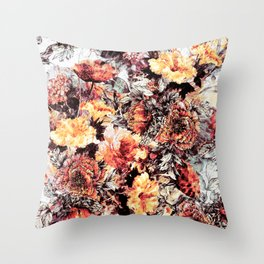 RPE FLORAL ABSTRACT Throw Pillow