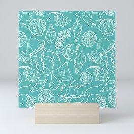 Sea Life - Aqua Mini Art Print