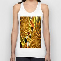 fractal Tank Tops featuring Fractal by Digital-Art