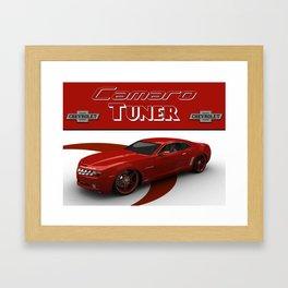 Chevrolet Camaro Tuner Framed Art Print