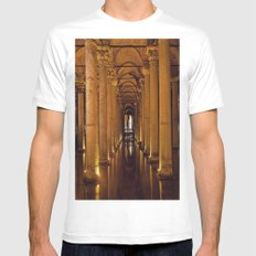 architectural SMALL White Mens Fitted Tee