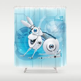 WELCOME TO THE NEW AGE Shower Curtain