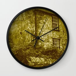vintage grunge scenery 3 Wall Clock