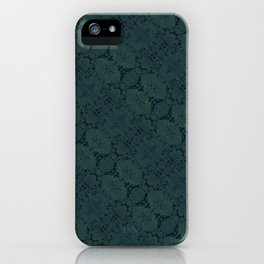 Turquoise iPhone Case