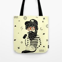 dreamer Tote Bags featuring Dreamer by Anya Volk