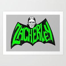 Zacherley Art Print