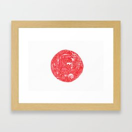 Nippon Framed Art Print