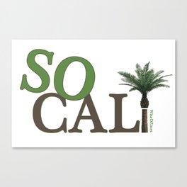 SoCali  Canvas Print
