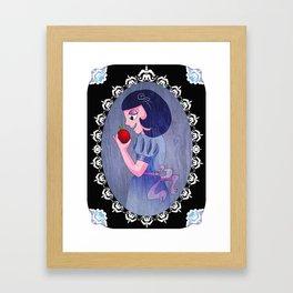 Crunchy Apple Framed Art Print