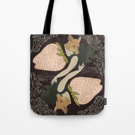 Foxed Tote Bag