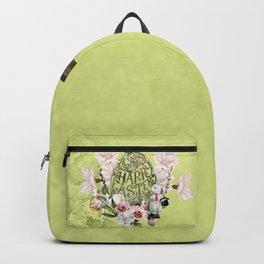 Happy easter, Elegant easter egg Backpack