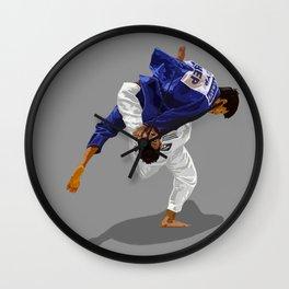 Judo Ippon Elbaz Wall Clock