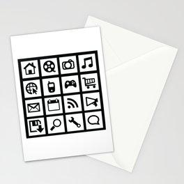 Web Icons Stationery Cards