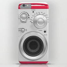 Vintage Radio iPhone 6 Plus Slim Case