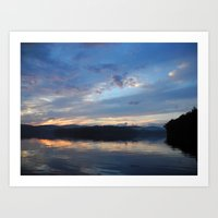 Evening Calm II Art Print