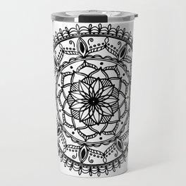 Indie Mandala Travel Mug