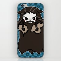 thorin iPhone & iPod Skins featuring Dwarpacas(Thorin) by Lady Cibia