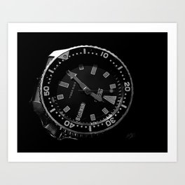 Seiko Watch Art Print