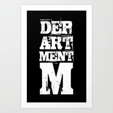 Department M Brand Art Print
