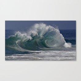 Wedge Waves  7/22/13 Canvas Print