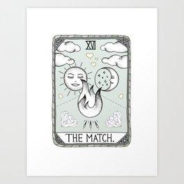 The Match Art Print