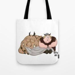 Hungry Meatlug Tote Bag