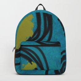 Midcentury Modern Art Circles Backpack