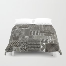 African Brown Tribal Mud Cloth Duvet Cover