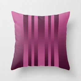 Burgundy , striped Throw Pillow