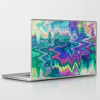 trippy Laptop & iPad Skins featuring Trippy by Dorothy Pinder