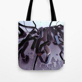 Shame 3D Graffiti Tote Bag