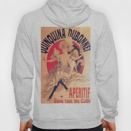 Quinquina Dubonnet 1895 By Jules Cheret | Reproduction Art Nouveau Hoody